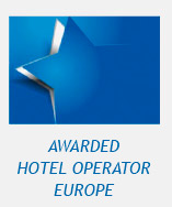 Logo: awarded Hotel operator in Europe