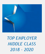 Logo: top employer in the middle class 2018 - 2020